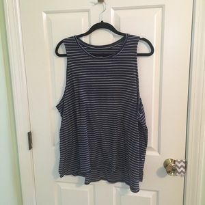 Striped Muscle Tee Old Navy PLUS